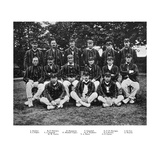 The South African Cricket Team of 1912 Giclée-tryk