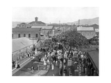 King Street Looking North, Kingston, Jamaica, C1905 Giclee Print by Adolphe & Son Duperly
