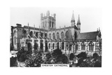Chester Cathedral, 1936 Giclee Print