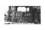 North Wall of Mandapa, Sunak, India, C1925 Giclee Print