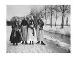 Winter, Volendam, Netherlands, C1934 Giclee Print