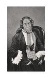 Marceline Desbordes-Valmore, French Poet, 1859 Giclee Print