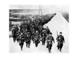 French Infantry, Reinforcements for the Allies, First World War, 1914 Giclee Print