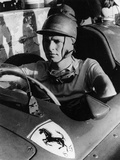 Peter Collins in a Ferrari, C1956 Photographic Print