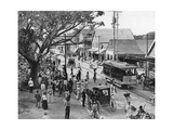 Jubilee Market Square, Kingston, Jamaica, C1905 Giclee Print by Adolphe & Son Duperly