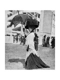 Ascot Fashion, 1913 Giclee Print