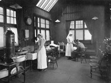First Aid Room, Wolseley Car Factory, Birmingham, 1920S Photographic Print