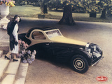 A Page from a 1935 Bugatti Brochure Photographic Print