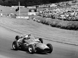 An Davison and Gino Munaron During Formula Intercontinental Race, Brands Hatch, August 1961 Photographie