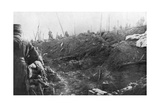 French Troops Prepare for a German Counter-Attack, Eparges Ridge, Near Verdun, France, August 1915 Giclee Print