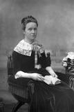 Mrs Henry Fawcett, 1890 Reproduction photographique par W&d Downey