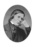 Robert Schumann (1810-185) Was a German Composer, Aesthete and Influential Music Critic Giclee Print