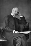 Colonel Jf Maurice, 1890 Reproduction photographique par W&d Downey
