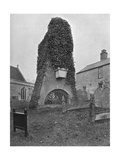 A Tomb Above Ground, Pinner Churchyard, London, 1924-1926 Giclee Print by  Valentine & Sons