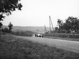 Rudolf Caracciola in His Mercedes, French Grand Prix, Rheims, 1938 Photographic Print