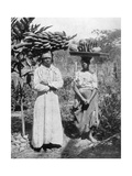 Fruit Sellers, Jamaica, C1905 Giclee Print by Adolphe & Son Duperly