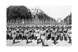 French Foreign Legion Review, Paris, 14 July 1939 Giclee Print