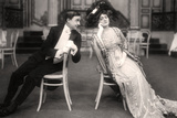 Lily Elsie and Joseph Coyne in the Merry Widow, 1907 Photographic Print by  Foulsham and Banfield