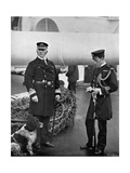 Rear-Admiral Arthur Alington and His Flag Lieutenant, William George Elmhirst Ruck-Keene, 1896 Giclee Print by  Gregory & Co