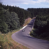 A View of Part of the Nurburgring Race Track, German Grand Prix, Germany, 1963 Photographic Print