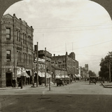 Grafton Street, Charlottetown, Prince Edward Island, Canada, Early 20th Century Photographic Print