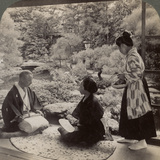 The Gardens of the Home of Mr Y Namikawa, Leader in the Art Industries, Kyoto, Japan, 1904 Photographic Print by  Underwood & Underwood