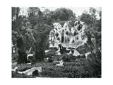 Roaring River Falls, Jamaica, C1905 Giclee Print by Adolphe & Son Duperly