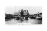 Montreal Harbour, Quebec, Canada, C1920S Giclee Print