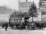 1908 Leyland Bus, (C1908) Photographic Print