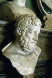 Epicurus (341-271B), Ancient Greek Philosopher Photographic Print