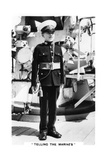 Young Bugler of the Royal Marines, 1937 Giclee Print