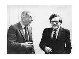 Mikael Tariverdiev and Andrey Petrov, Soviet Composers, 1975 Giclee Print
