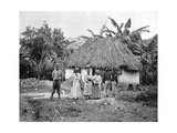 Negro Hut, Jamaica, C1905 Giclee Print by Adolphe & Son Duperly
