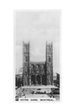 Notre Dame, Montreal, Canada, C1920S Giclee Print