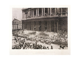 St Paul's Cathedral During the Diamond Jubilee Thanksgiving Service for Queen Victoria, June 1897 Giclee Print