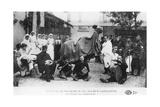 Improvised Camel, Auxiliary Hospital, Rue Lafayette, Paris, France, World War I, 1914-1918 Giclee Print