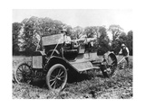 Model T Ford with Stephenson Agricultural Conversion, Sussex, 1917 Giclee Print