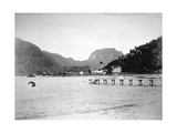 Pago Pago Harbor, in the Island of Tutuila, American Samoa, 1889 Giclee Print
