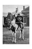 The Drum Horse of the 17th Lancers, 1896 Giclee Print