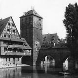 Henkersteg (The Hangman's Bridg), Nuremberg, Bavaria, Germany, C1900s Photographic Print