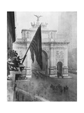 Us 1st Army Passing Through the Victory Arch, Madison Square, New York, USA, 10 September 1919 Giclee Print