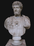 Bust of Septimius Severus, 3rd C Ad Photographic Print