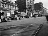 Trucks in Market Street, San Francisco, USA, C1922 Photographic Print