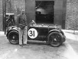 Cyril Paul with His Mg C Type, 1932 Photographic Print