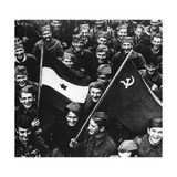 Liberation of Belgrade, October 1944 Giclee Print