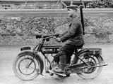 1918 500Cc Bsa Wd Motorcycle, (C1918) Photographic Print