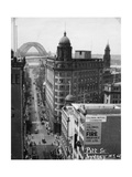 Pitt Street, Sydney, New South Wales, Australia, 1945 Giclee Print