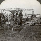 Wreck of a German Bomber That Tried to Break Through the Aerial Defence, World War I, 1914-1918 Photographic Print