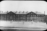Dormitory Building, Harvard University, Massachusetts, USA, Late 19th or Early 20th Century Photographic Print