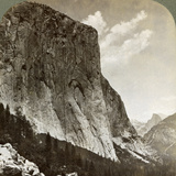 El Capitan and Half Dome, Yosemite Valley, California, USA, 1902 Photographic Print by  Underwood & Underwood